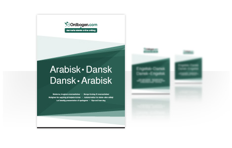 dansk arabisk ordbog