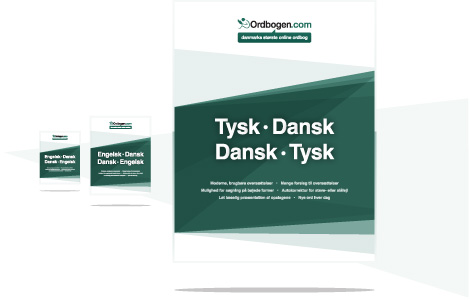 ordbog dansk engelsk kommer ud i