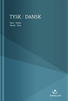 Ordbogen Danish-German / German-Danish dictionary